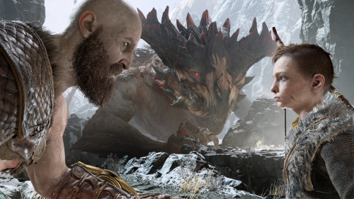 god of war,santa monica studio,sony,press event,preview,avis