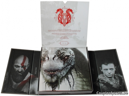 kit presse,press kit,déballage,god of war,sony,santa monica studio