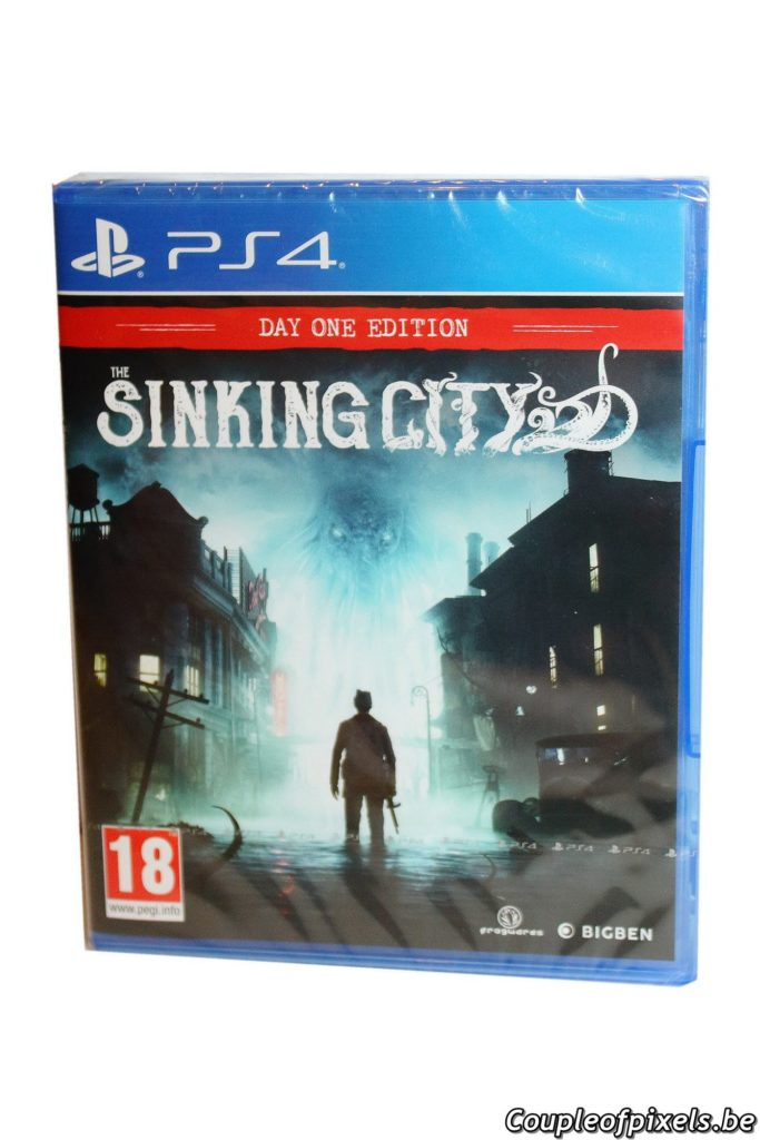 The Sinking City Press Kit - Unboxing