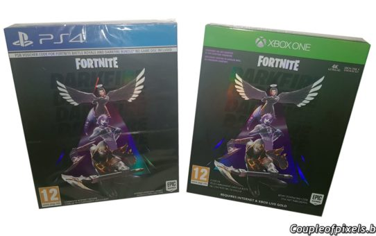 Concours Fortnite Feu Obscur