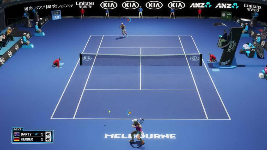 AO Tennis 2 - Test
