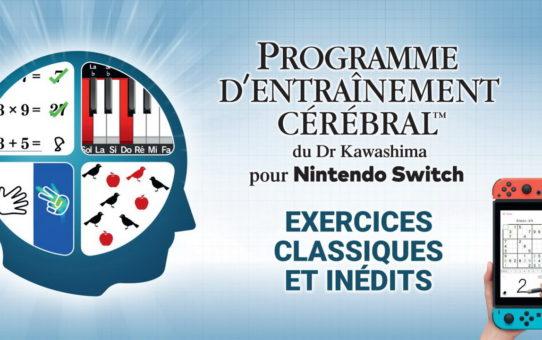 Le programme d'entrainement du dr kawashima - Switch - Test