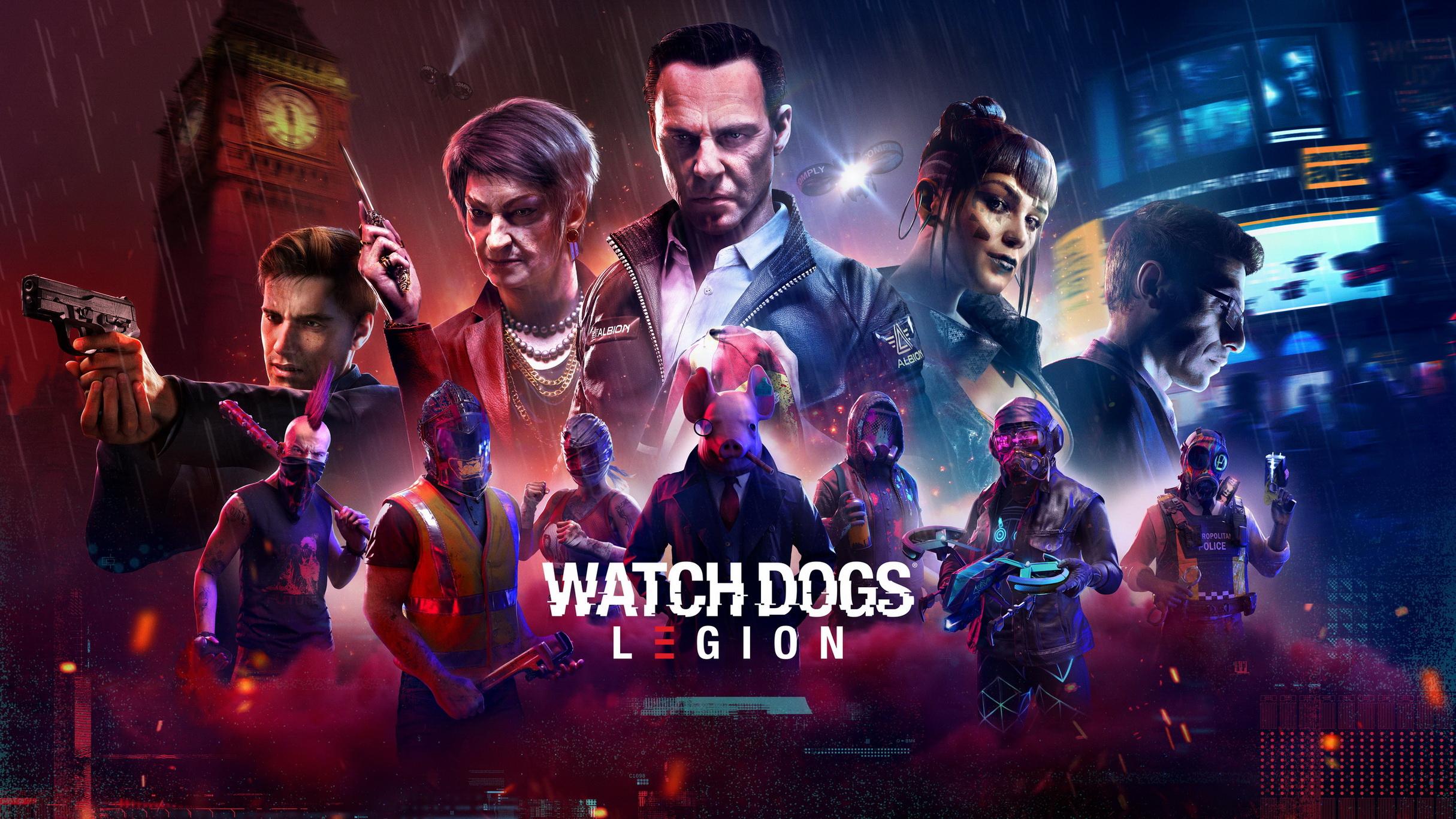 Watch Dogs Legion Test