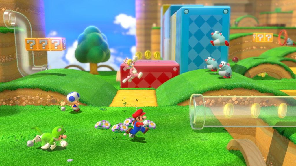 Super Mario 3D World - Test Switch