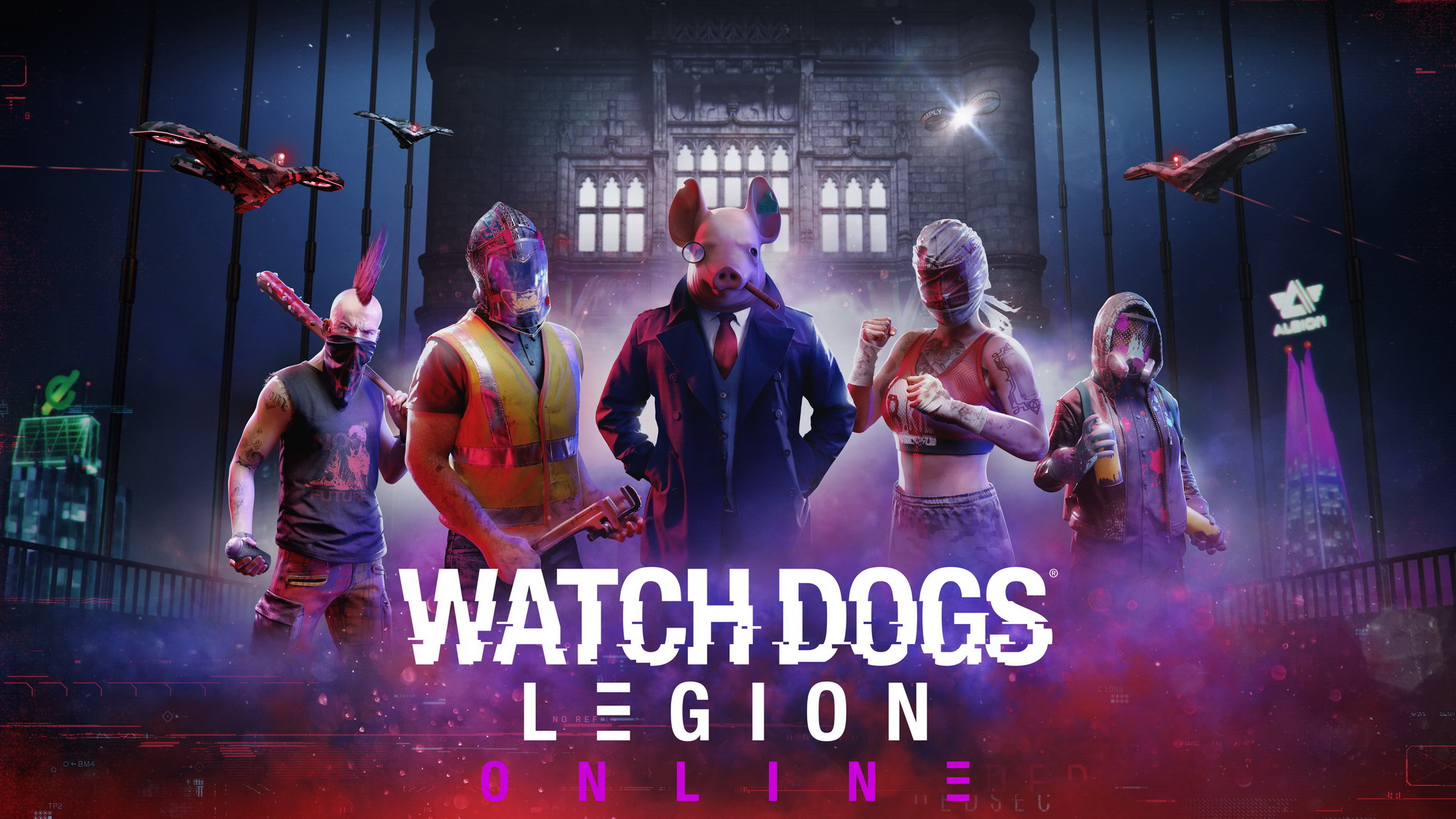 Watchdogs Legion Online mode