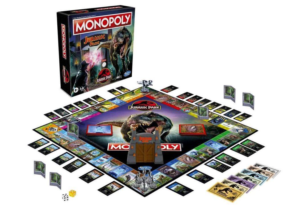 Jurassic Park Monopoly