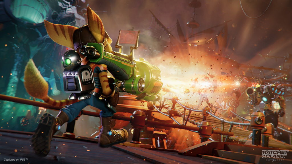 Ratchet and Clank Rift Apart Test
