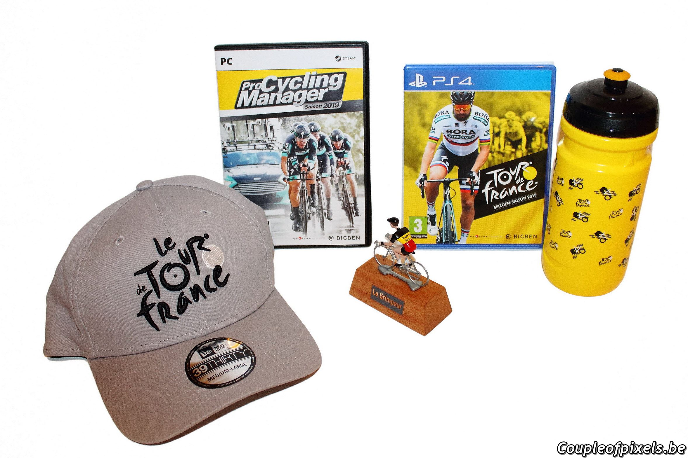 Tour de France Press Kit - Unboxing