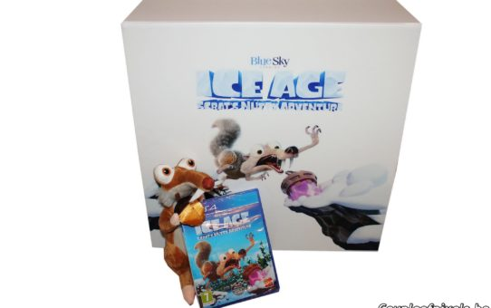 Ice Age Scrat Nutty Adventure - press kit unboxing
