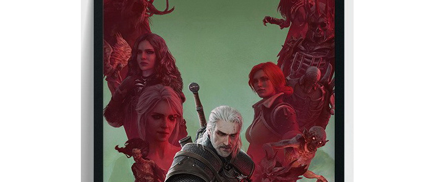 Poster Anniversaire The Witcher 3